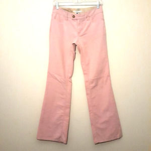 Gap pink corduroy snap pocket stretch flare jeans